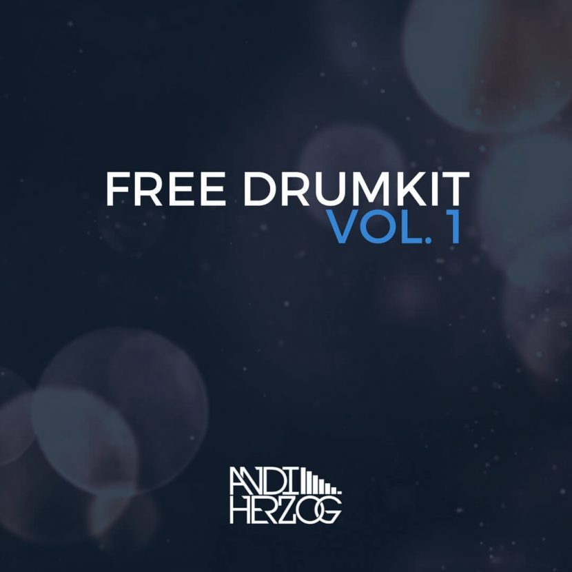 Das Cover von Andi Herzog's erstem kostenlosen Drumkit