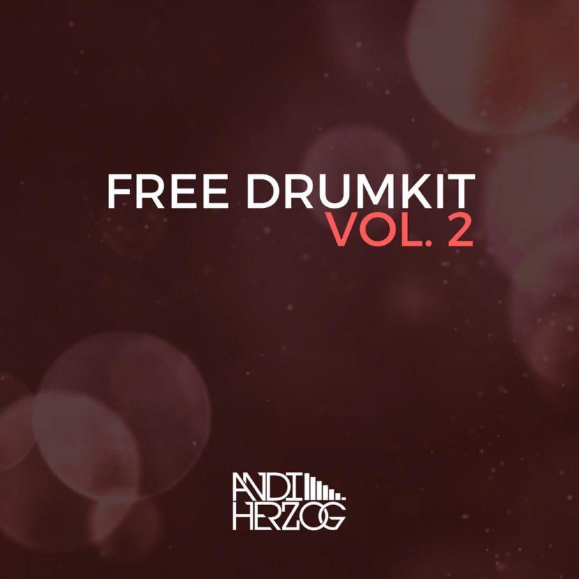 Das Cover von Andi Herzog's zweitem kostenlosen Drumkit