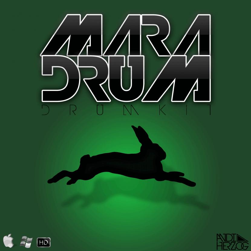 """Cover von """"Maradrum"""", einem Drumkit von Andi Herzog"""