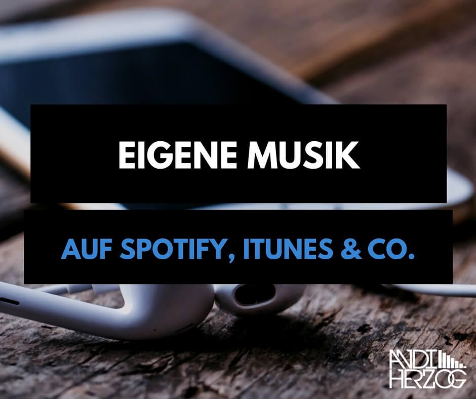 Eigene Musik Vermarkten