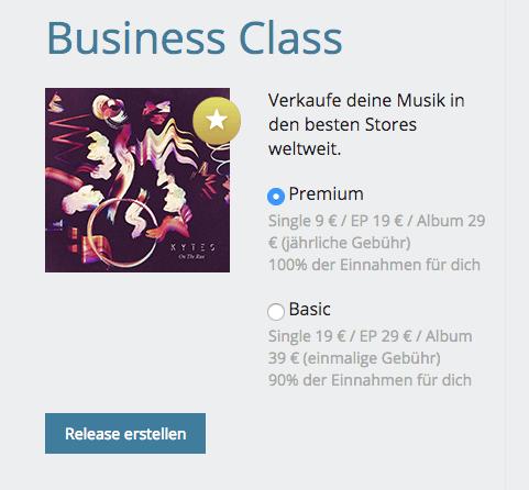 Eigene Musik auf Spotify, iTunes, Deezer, Amazon & Co. - Andi Herzog - Business Class