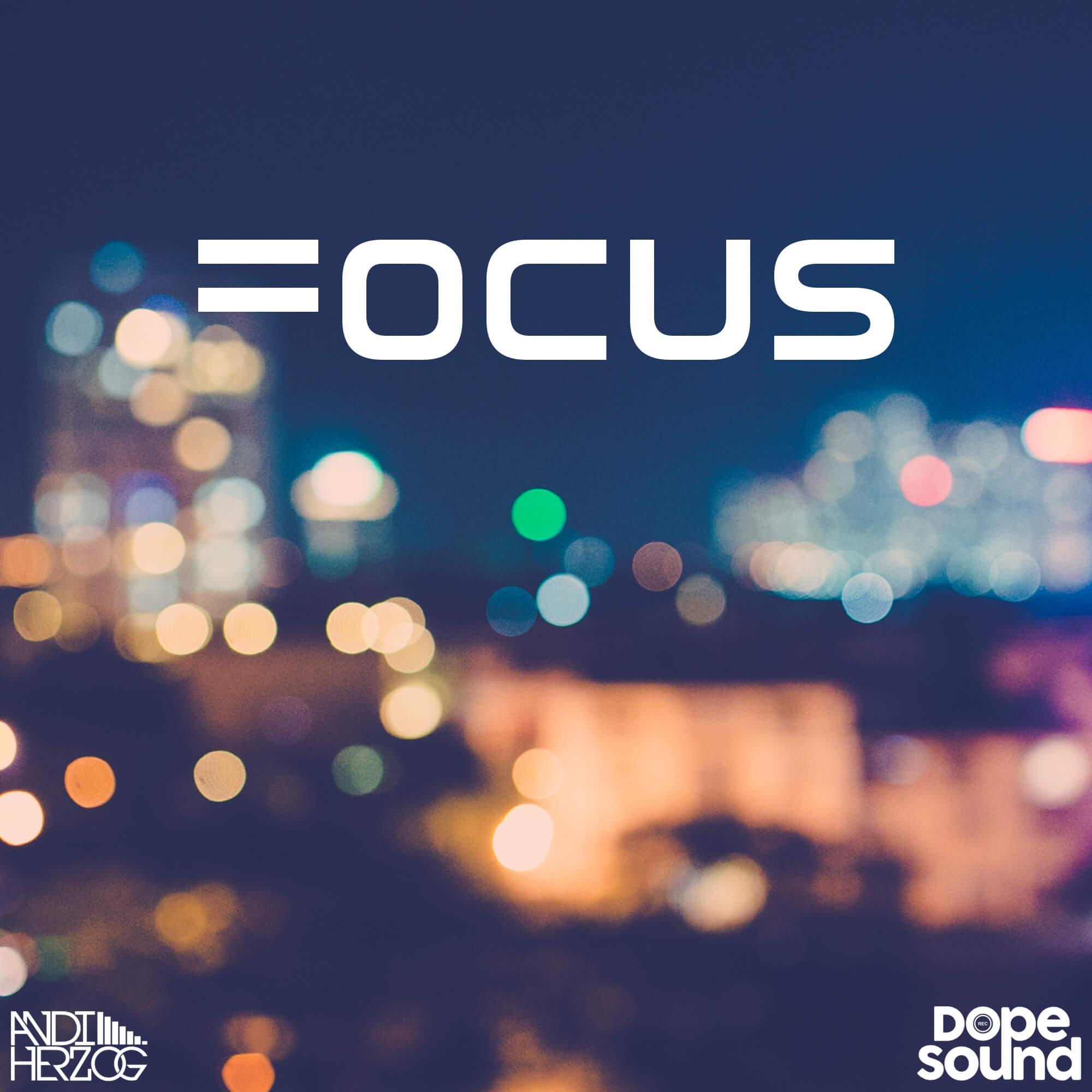 "Artwork von Andi Herzog's EP ""Focus"""