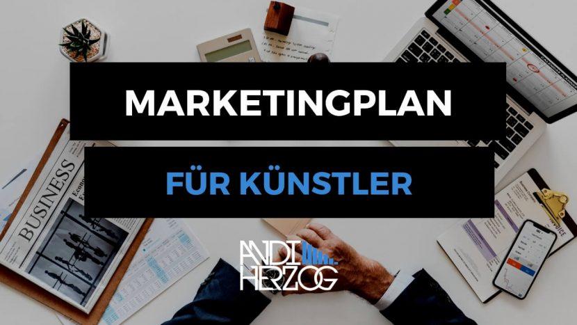 Marketingplan für Künstler